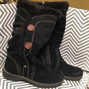 Bear Traps Shoes Benella Boots Black Suede Size 8m